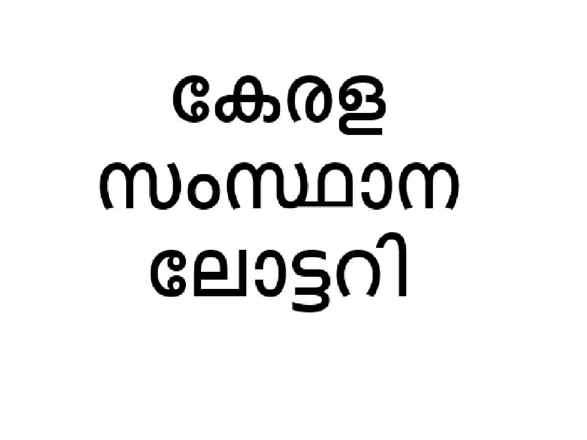 Kerala State lottery Bumper result